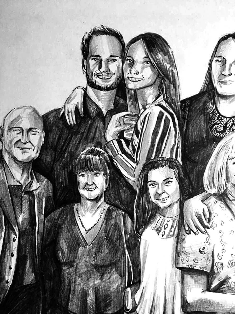Family-drawing-illustration
