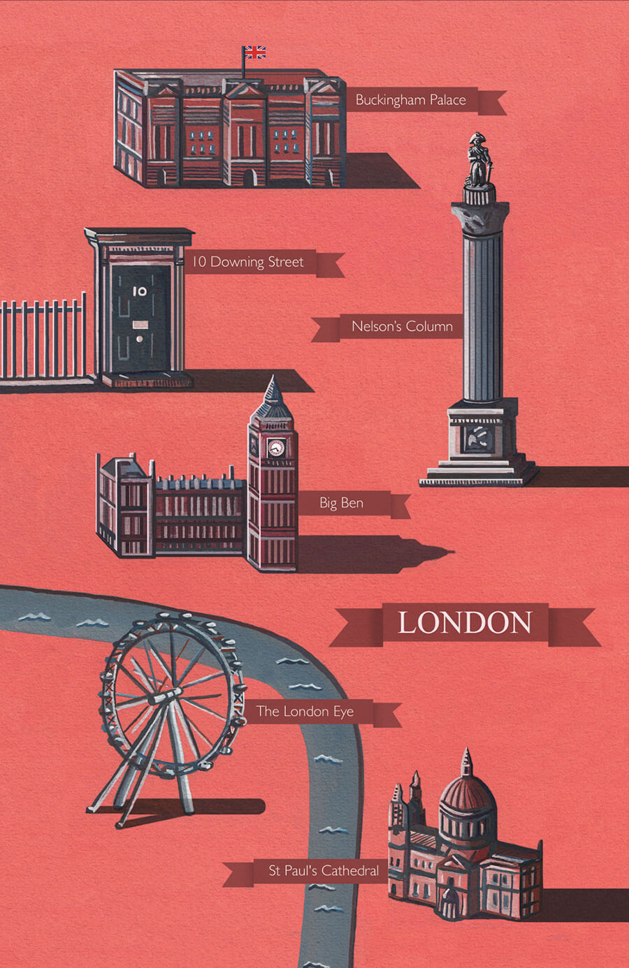 London-illustrated-map