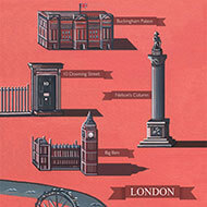 London Illustrated Map