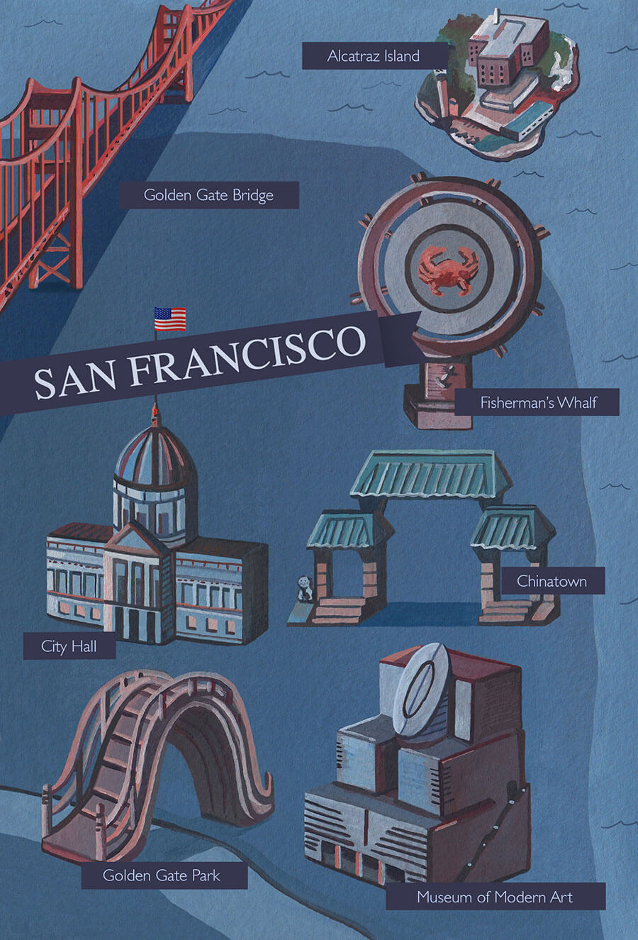 San-francisco-illustrated-map