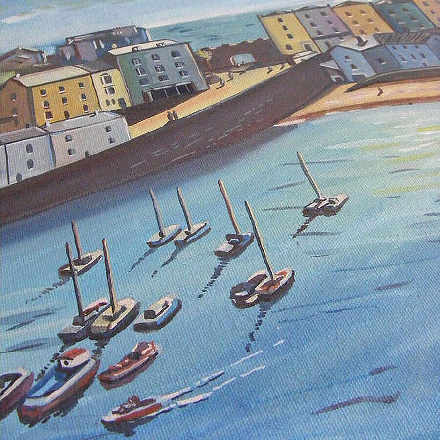 Tenby Original Painting
