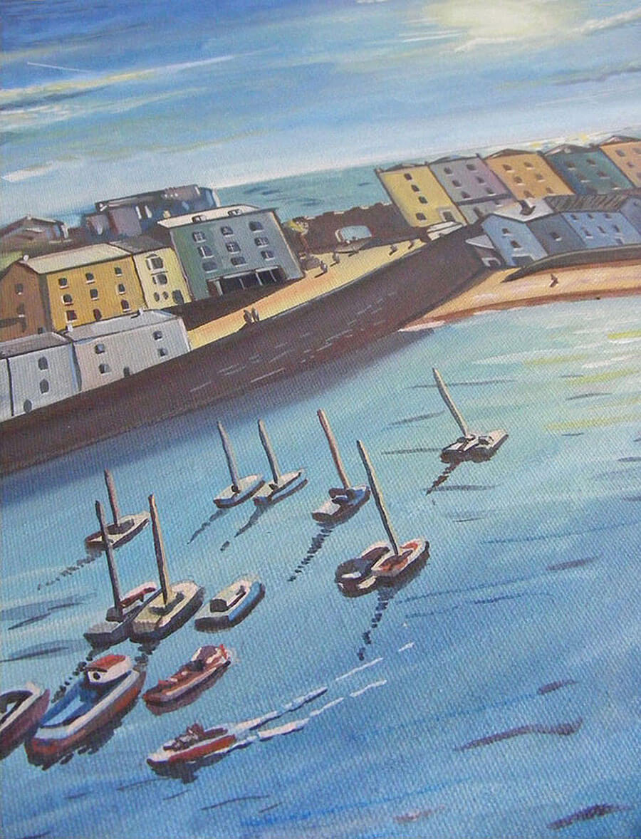 Tenby-painting