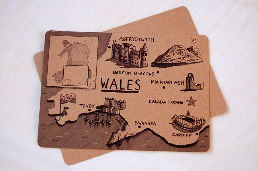 Wales-map-illustration