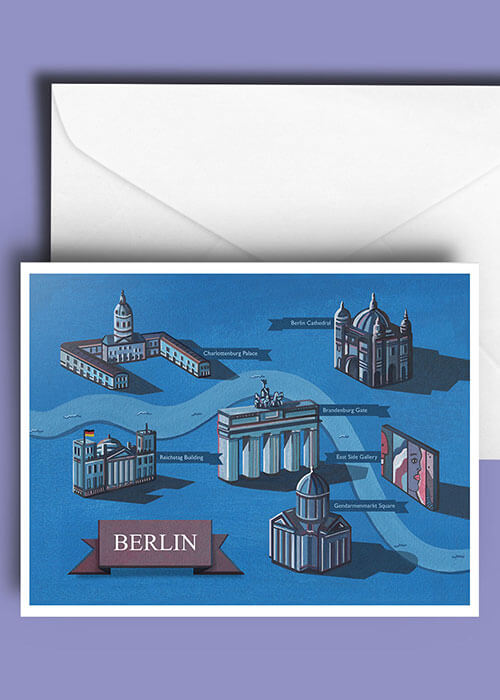 Buy the Berlin Greetings Card item