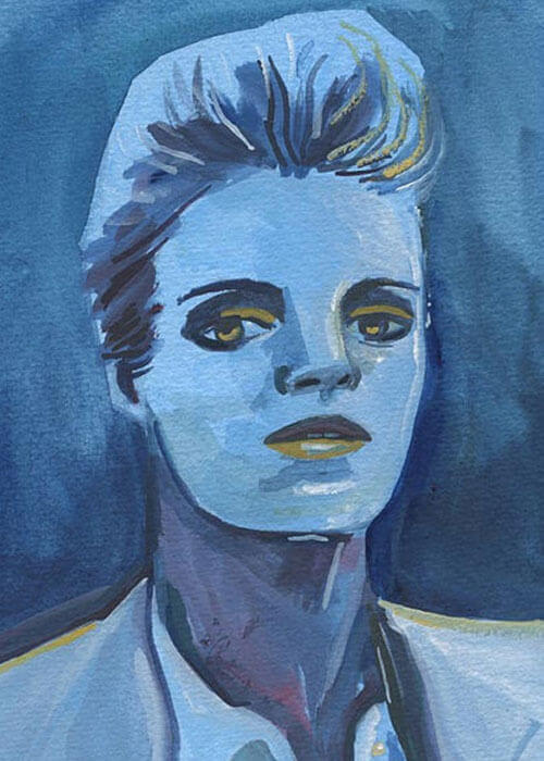 Buy the Blue Woman Painting item