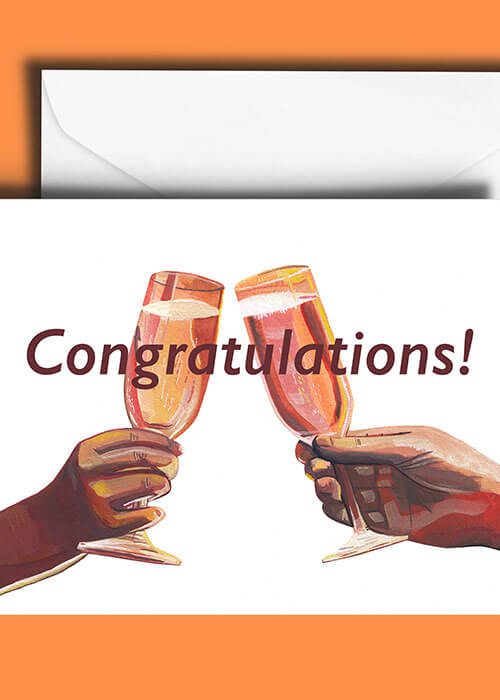 Buy the Congratulations Greetings Card item