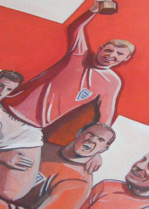 Buy the England 1966 World Cup Painting item