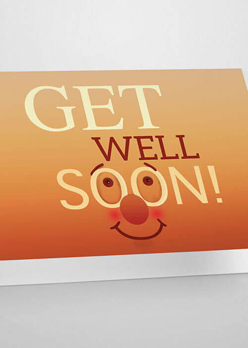 Buy the Get Well Soon Greetings Card item
