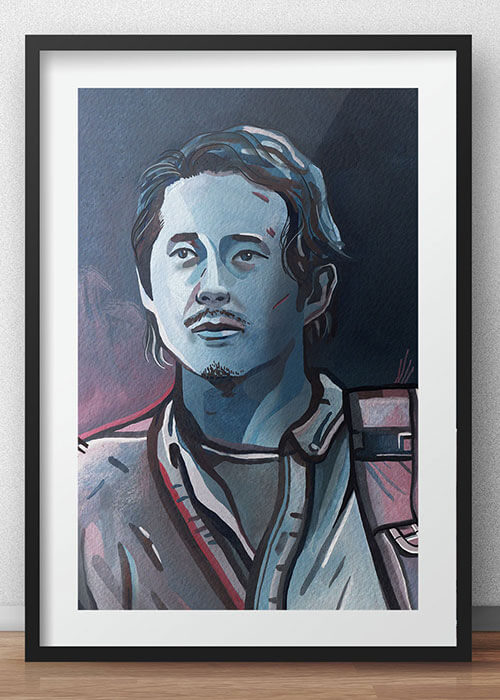 Buy the Glenn Rhee Art Print item