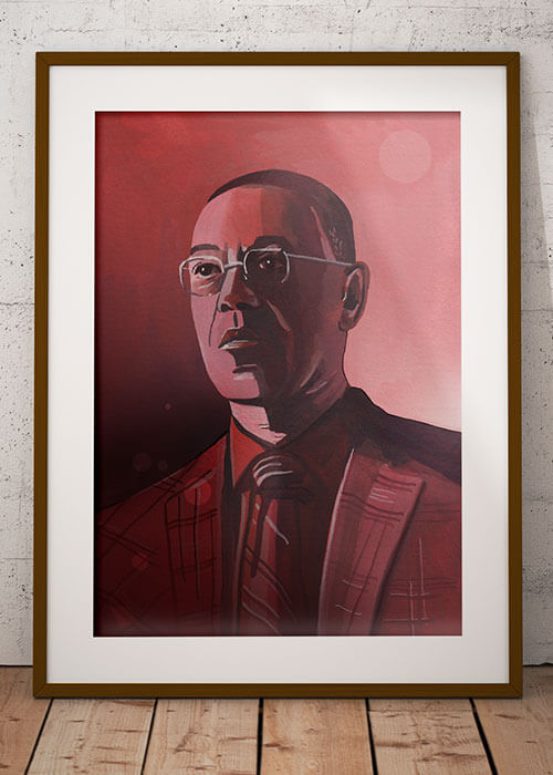 Buy the Gustavo Fring Art Print item