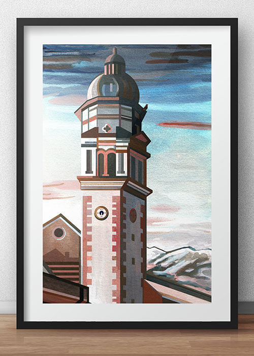 Buy the Innsbruck Art Print item