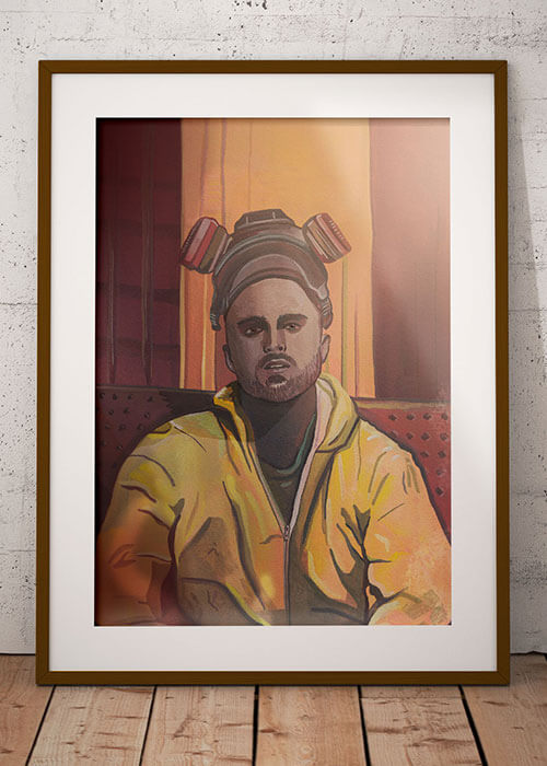 Buy the Jesse Pinkman Art Print item