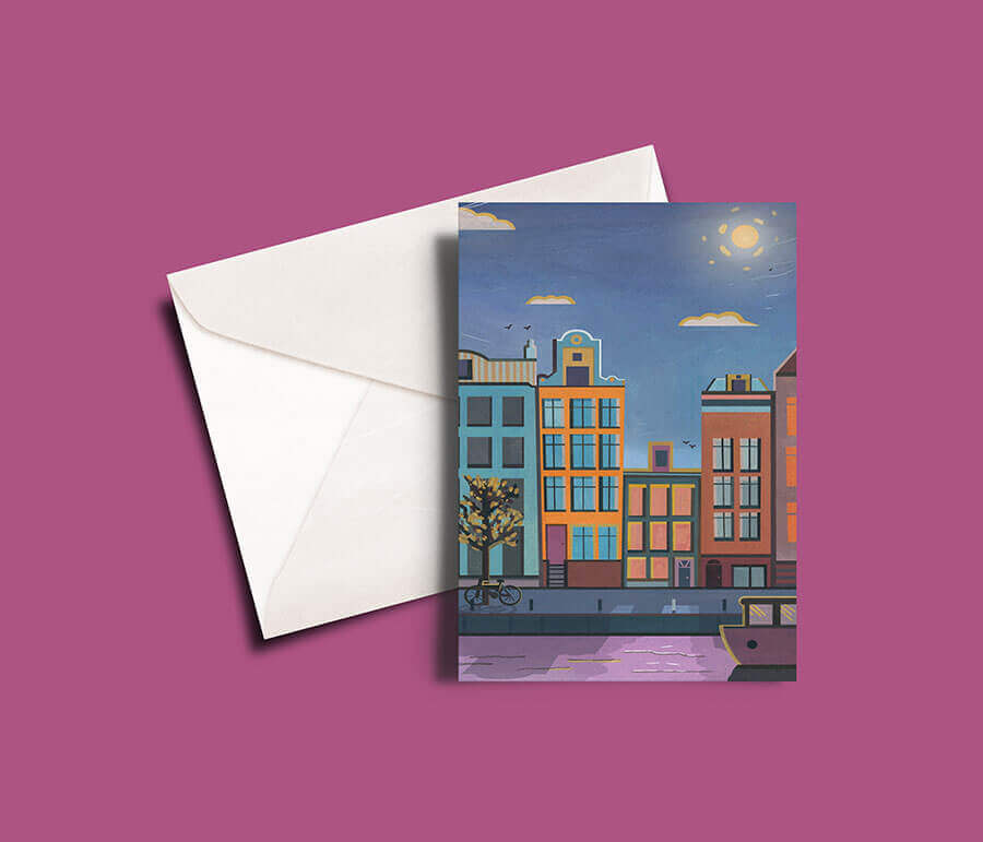 Buy the Amsterdam Greetings Card