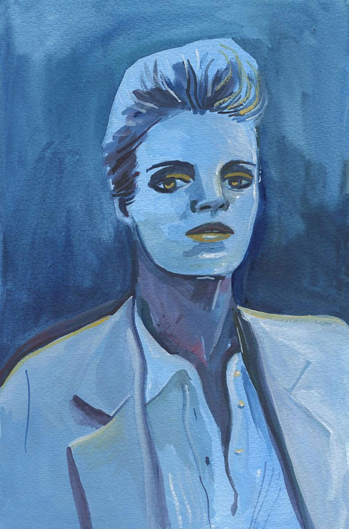 Buy the Blue Woman Painting