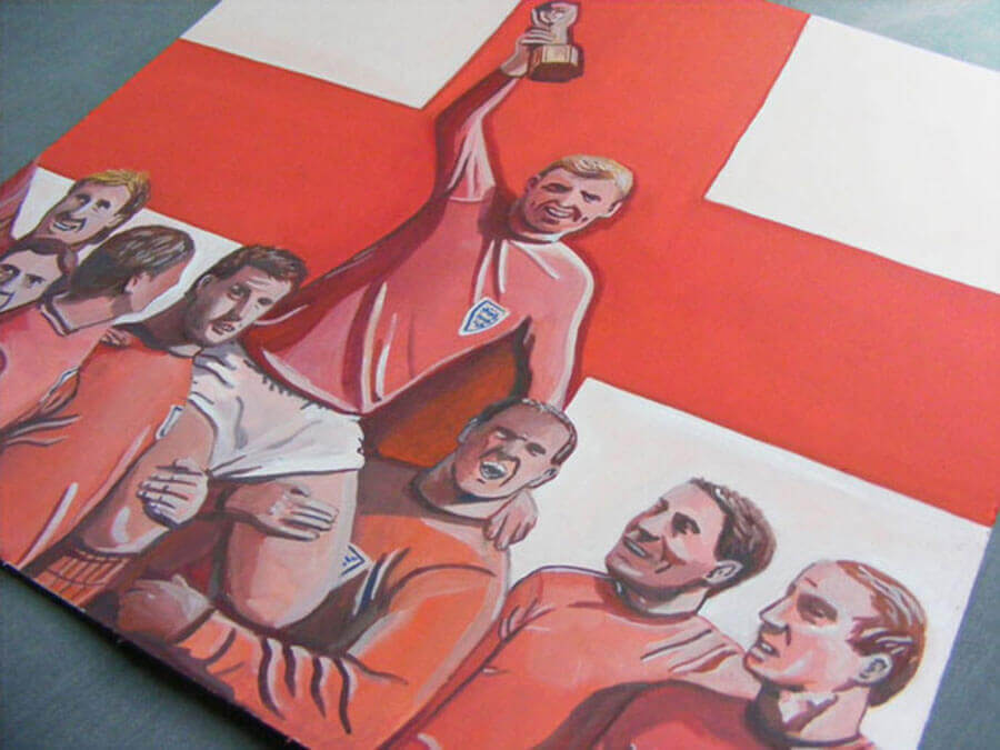 Buy the England 1966 World Cup Painting