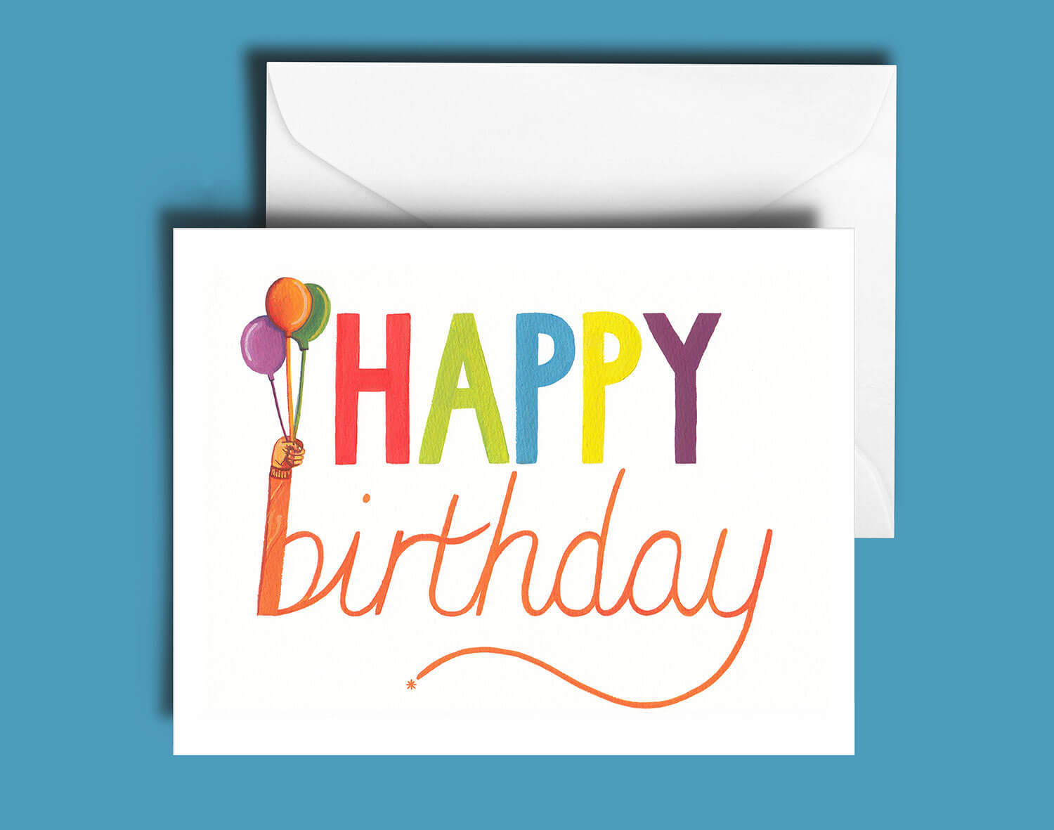 Buy the Happy Birthday Greetings Card