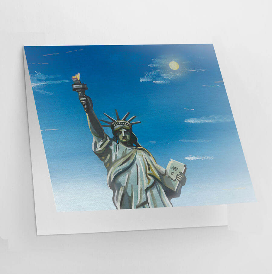 Buy the New York Greetings Card