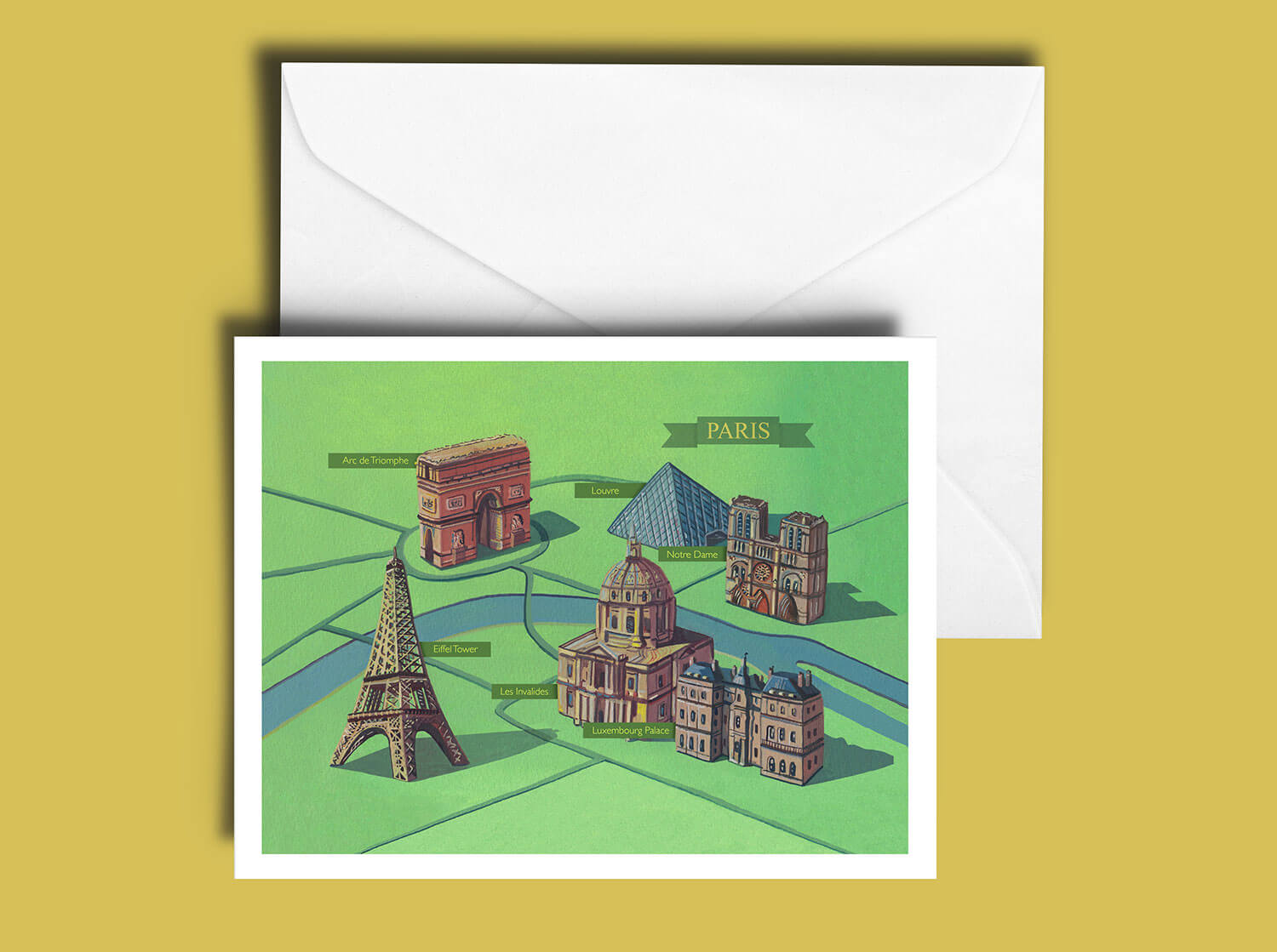 Buy the Paris Greetings Card