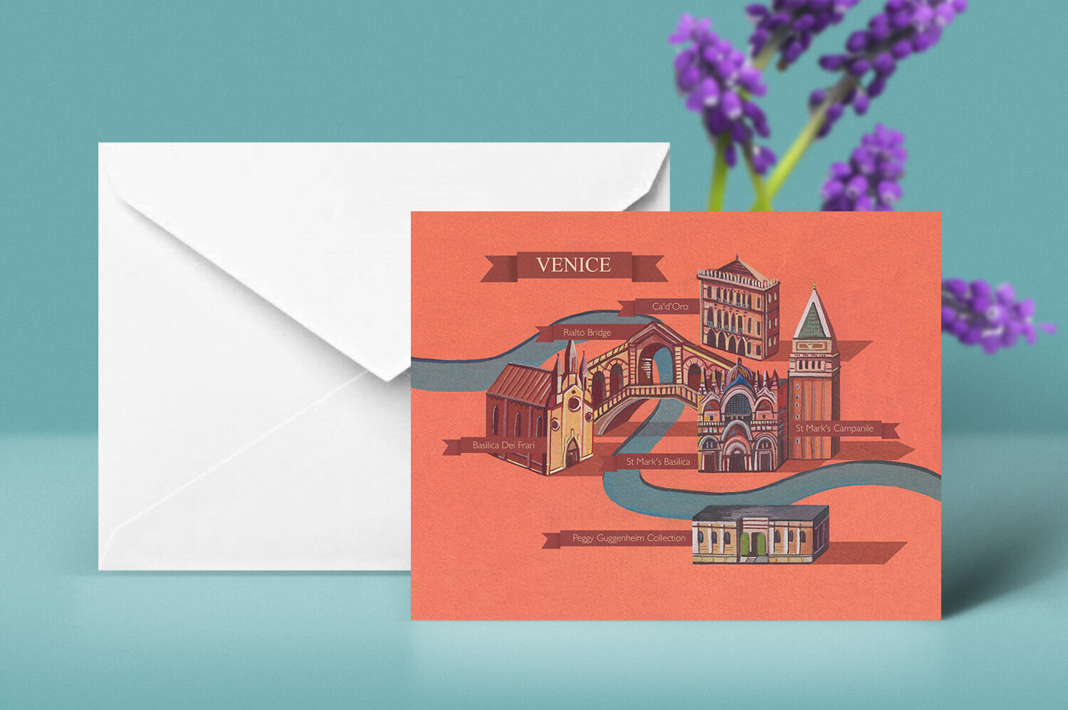 Buy the Venice Greetings Card