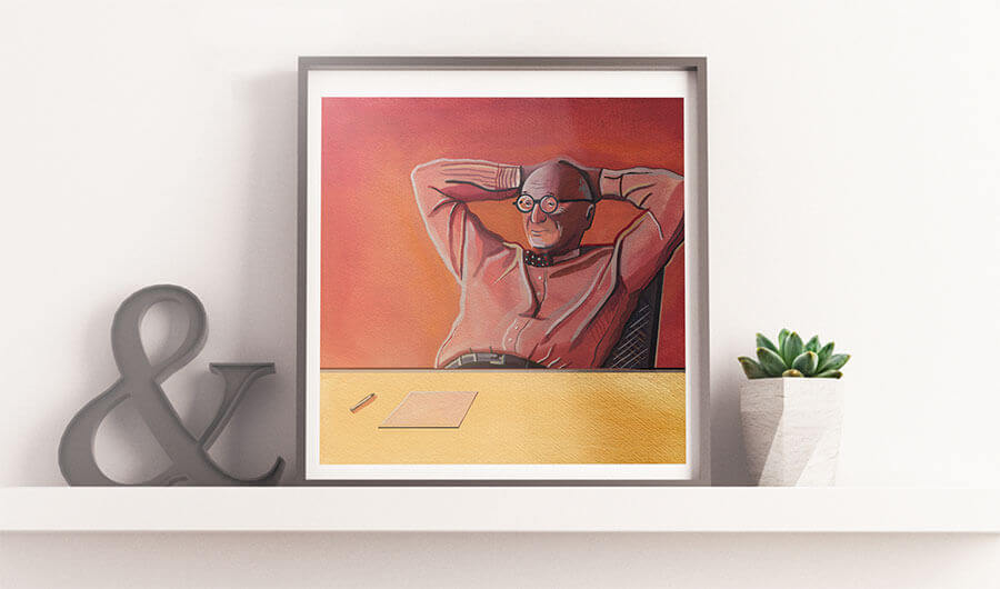 Buy the Wally Olins Portrait