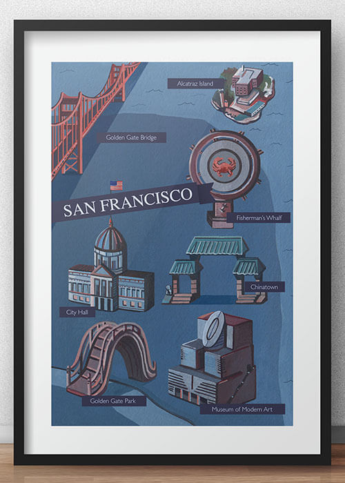 Buy the Map of San Francisco item