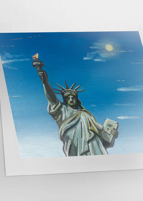 Buy the New York Greetings Card item