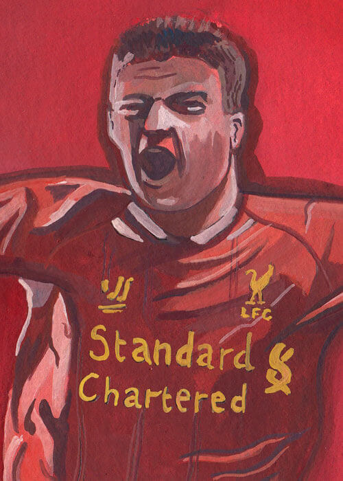 Buy the Steven Gerrard Painting item