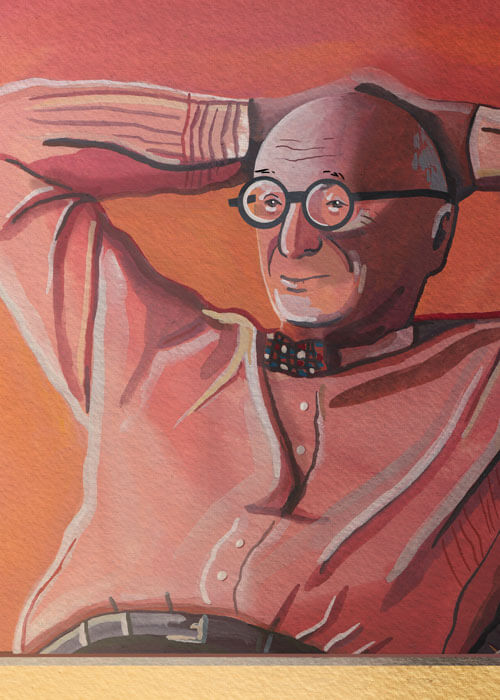 Buy the Wally Olins Portrait item