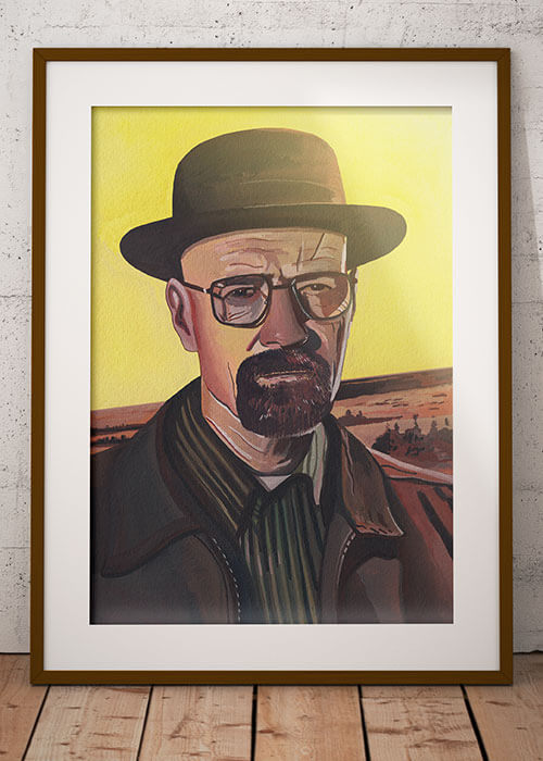 Buy the Walter White Art Print item